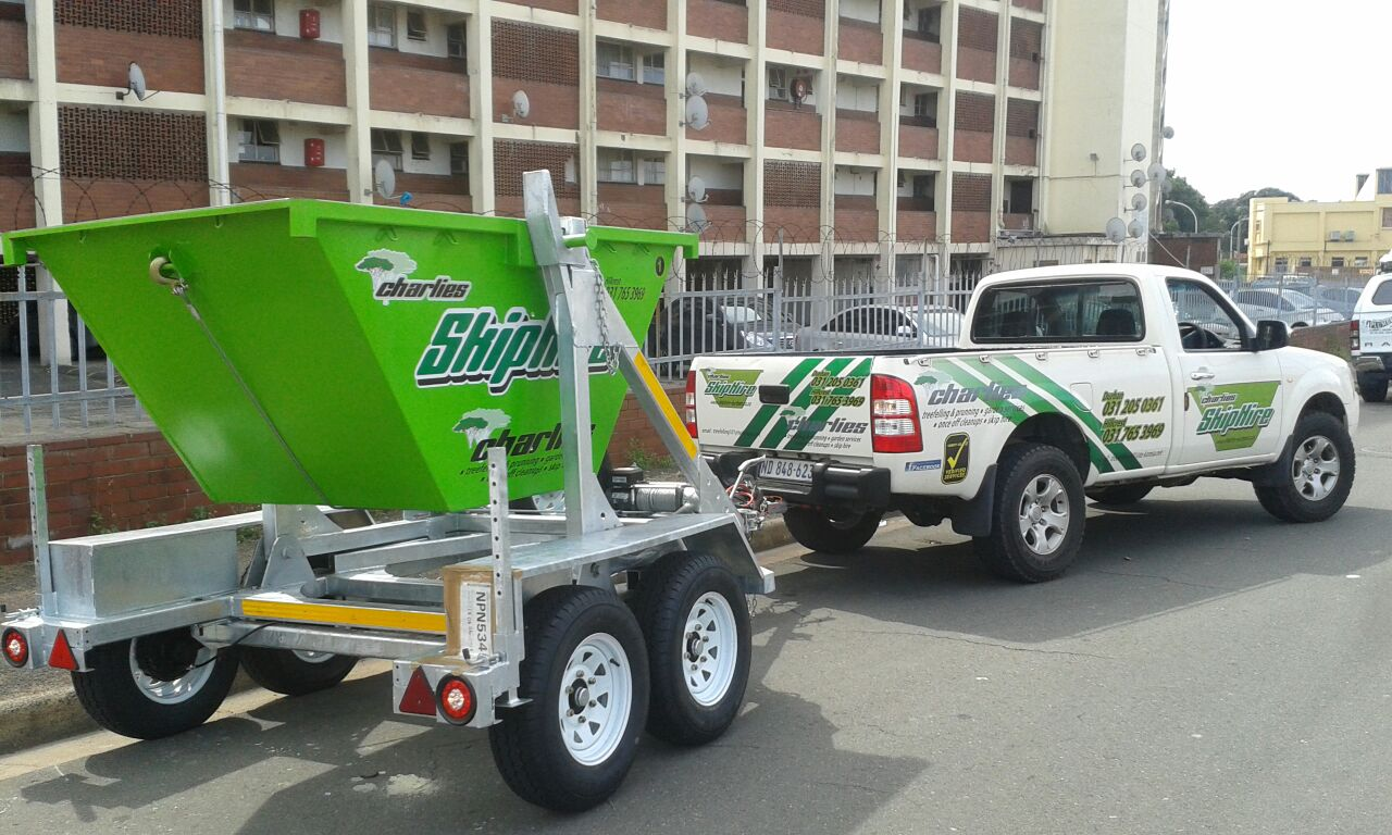 Charlies tree felling and garden service and mini skip hire